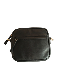 wacc035-ZIP PURSE-BLACK