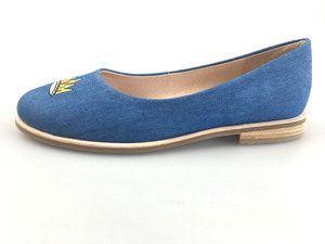 I079-SUNDAY FLATS-BLUE DENIM