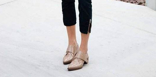 Can't wear high heels? Flat bottom mules give you the elegance of women